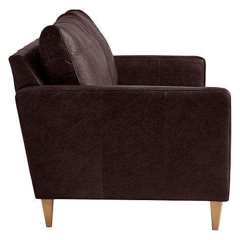 Buy John Lewis Bailey Small 2 Seater Leather Sofa John Lewis