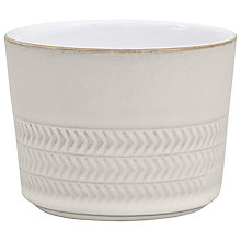 Buy Denby Natural Canvas Textured Sugar Bowl Online at johnlewis.com