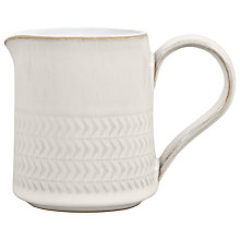Buy Denby Natural Canvas Textured Jug Online at johnlewis.com
