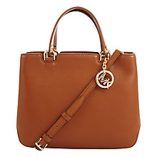 Buy MICHAEL Michael Kors Anabelle Medium Top Zip Leather Tote Bag Online at johnlewis.com