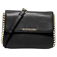 Buy MICHAEL Michael Kors Bedford Leather Across Body Bag Online at johnlewis.com