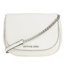 Buy MICHAEL Michael Kors Bedford Leather Small Across Body Bag Online at johnlewis.com