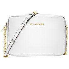 Buy MICHAEL Michael Kors Jet Set Travel Large East/West Across Body Bag Online at johnlewis.com