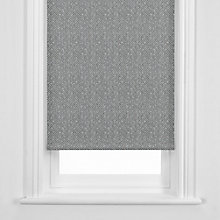 Buy John Lewis Ancona Roller Blind, Steel Online at johnlewis.com