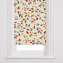Buy John Lewis Scattered Leaves Roller Blind, Multi Online at johnlewis.com