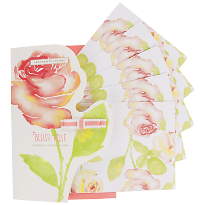 Image of Heathcote & Ivory Blush Scented Drawer Liners