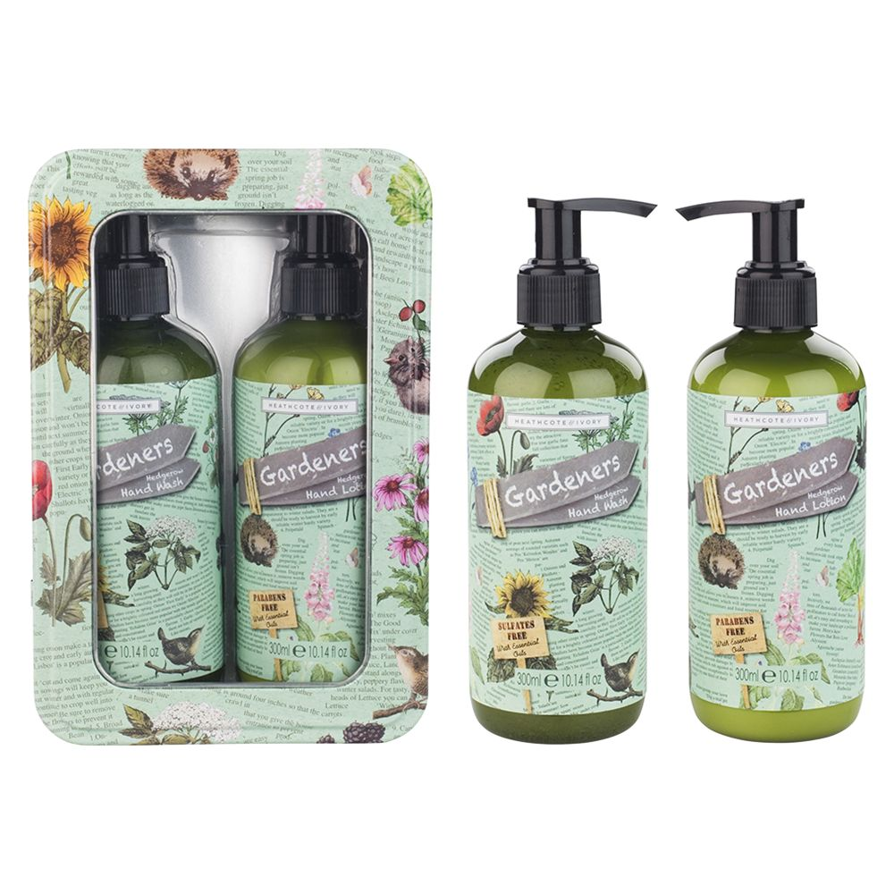 Heathcote & Ivory Heathcote & Ivory Gardener's Hedgerow Hand Care Gift Set