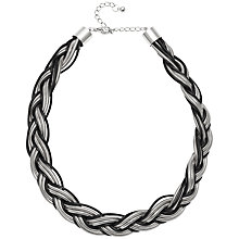 Buy Adele Marie Plaited Sprung Coil Rope and Cord Necklace Online at johnlewis.com