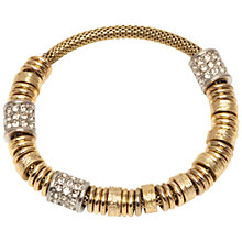 Buy Adele Marie Mesh Rope and Bead Pave Set Bracelet Online at johnlewis.com