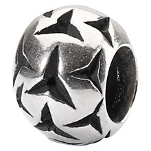 Buy Trollbeads Sterling Silver Small Birds of a Feather Bead Charm, Silver Online at johnlewis.com