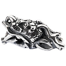 Buy Trollbeads Sterling Silver Shenlong Spiritual Dragon Bead Charm, Silver Online at johnlewis.com