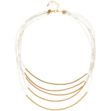 Buy Adele Marie 5 Row Bead and Spring Tube Necklace Online at johnlewis.com