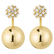 Buy Dyrberg/Kern Faceted Crystal and Globe Pendant Drop Earrings Online at johnlewis.com