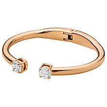 Buy Dyrberg/Kern Cubic Ziconia Hinged Bracelet Online at johnlewis.com