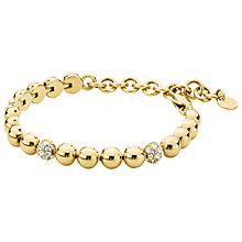 Buy Dyrberg/Kern Crystal Set Tennis Bracelet Online at johnlewis.com