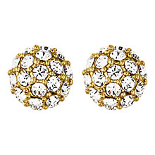 Buy Dyrberg/Kern Crystal Facet Stud Earrings Online at johnlewis.com