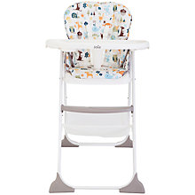 Buy Joie Baby Mimzy Snacker Highchair, Alphabet Online at johnlewis.com