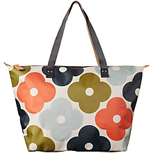 Buy Orla Kiely Flower Zip Shopper Bag, Multi Online at johnlewis.com