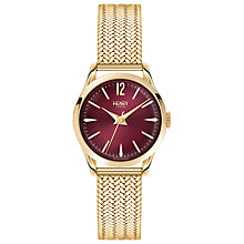 Buy Henry London HL25-M-0058 Women's Holborn Bracelet Strap Watch, Gold/Claret Online at johnlewis.com