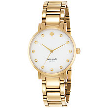 Buy kate spade new york Women's Gramercy Crystal Bracelet Strap Watch Online at johnlewis.com