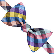 Buy Thomas Pink Selby Self Tie Silk Bow Tie Online at johnlewis.com