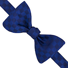 Buy Thomas Pink Rendini Square Pattern Self Tie Bow Tie, Navy/Blue Online at johnlewis.com