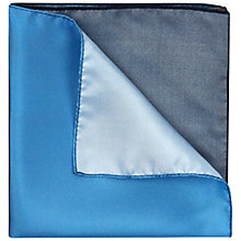 Buy Jaeger Silk Colour Block Pocket Square Online at johnlewis.com