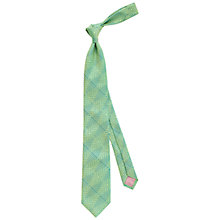 Buy Thomas Pink Wells Optical Woven Silk Tie Online at johnlewis.com
