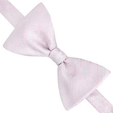 Buy Thomas Pink Totnes Silk Self Tie Bow Tie, White/Pink Online at johnlewis.com