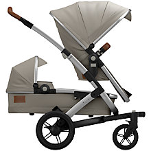 Buy Joolz Grey Geo Earth Duo Pushchair with Carrycot and free Footmuff Online at johnlewis.com