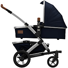 Buy Joolz Parrot Blue Geo Mono Pushchair with Carrycot and free Footmuff Online at johnlewis.com
