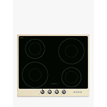 Buy Smeg PI964P Victoria Aesthetic 60cm Induction Hob, Cream Online at johnlewis.com