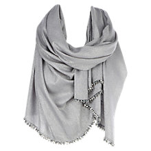 Buy Coast Milly Metallic Wrap, Silver Online at johnlewis.com