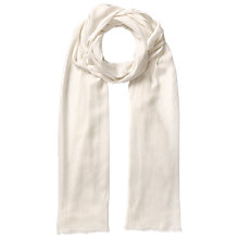 Buy East Fine Wool Scarf, Pearl Online at johnlewis.com