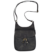 Buy Fat Face Oiled Leather Across Body Bag Online at johnlewis.com