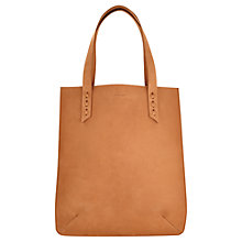 Buy Jigsaw Made Leather Tote Bag Online at johnlewis.com