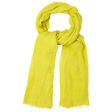 Buy White Stuff Dreaming Away Scarf, Yellow Online at johnlewis.com