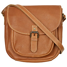 Buy Fat Face Annie Saddle Bag, Tan Online at johnlewis.com