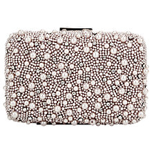 Buy Jacques Vert Pearl Clutch Bag, Neutral Online at johnlewis.com