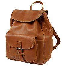 Buy Fat Face Leather Rucksack Online at johnlewis.com