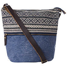 Buy Fat Face Tia Slouch Across Body Bag, Blue/Multi Online at johnlewis.com