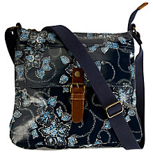 Buy Fat Face Floral Across Body Bag, Navy/Multi Online at johnlewis.com
