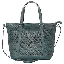 Buy White Stuff Mini Peony Tote Bag, Teal Online at johnlewis.com