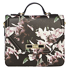 Buy Coast Winter Lily Floral Shoulder Bag, Multi Online at johnlewis.com