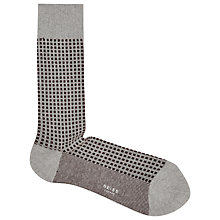 Buy Reiss Lynx Contrast Pattern Socks, One Size Online at johnlewis.com