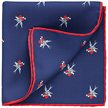 Buy Thomas Pink Layton Hearts Pocket Square Online at johnlewis.com
