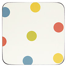 Buy John Lewis Bright Spot Coaster, Set of 6 Online at johnlewis.com
