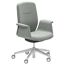 Buy Boss Design Mea Office Chair Main Line Flax Fabric Online at johnlewis.com