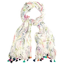 Buy White Stuff Fragrant Meadow Scarf, Multi Online at johnlewis.com