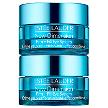 Buy Estée Lauder New Dimension Firm & Fill Eye Cream Online at johnlewis.com